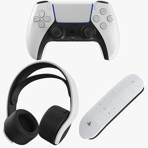 Three PlayStation 5 Accessories model