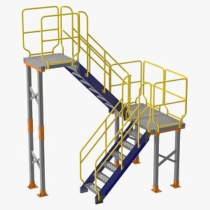 3D model industrial platforms