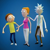 Rick and Morty Adventure Pack Game Ready