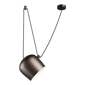 727213 Omega Lightstar chandelier hanging 3D