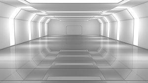 Sci Fi Warehouse 3D model