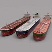 PANAMAX oil tanker real color option 245m