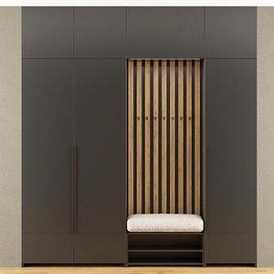 hall furniture 3D