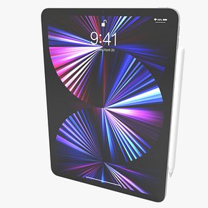 Apple Ipad Pro 11 2021 3D model