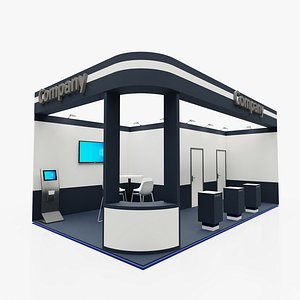 3D model Exhibition stand 5