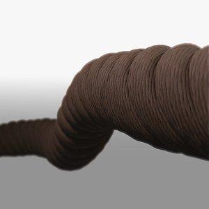 3D rope tool industrial model