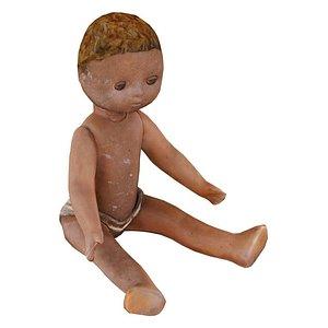 3D Small Doll USSR 03 01 model