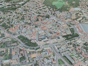 3D leipzig city