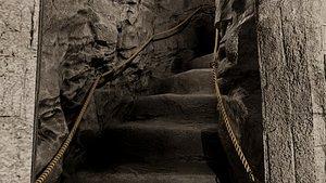 Dungeon Ascent Interior Scene model