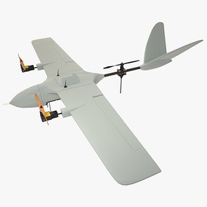 drone propellers 3D model