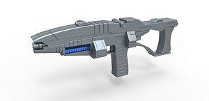 3D model Andorian Plasma Rifle