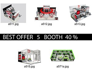 3D Booth Exhibition Stand c2
