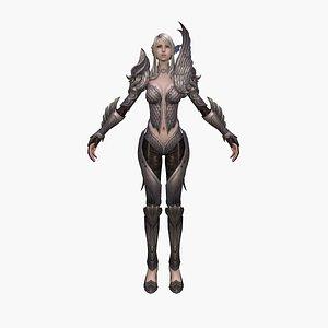 warrior elf model