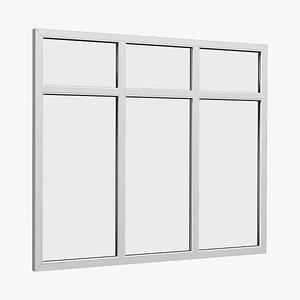 window fixed 3D