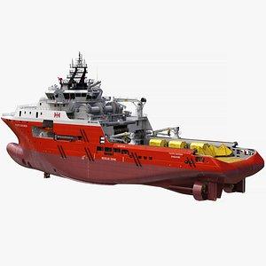 anchor handling tug 3D
