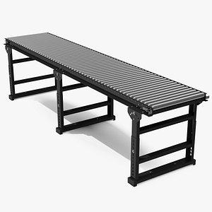 3D conveyor roller stand