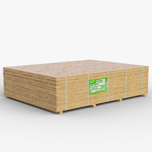 pallet plywood gameready lods 3D model