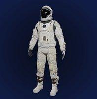 Sci Fi Space Suit Interstellar 3D