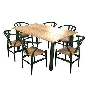 ch24 chair modern 3D model