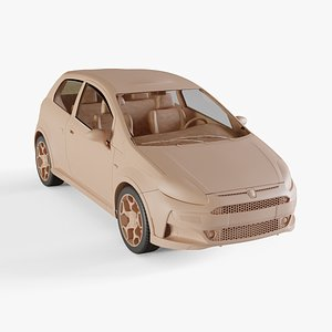 2011 Fiat Punto Evo Abarth 3D
