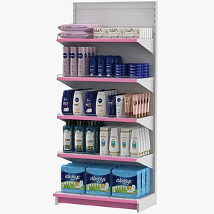 3D women products shampoo conditioner
