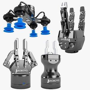 robotiq robot hand 01 3D