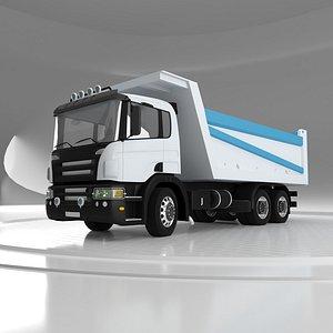 Tipper Truck v05 3D model