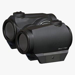 3D aimpoint reflex sight