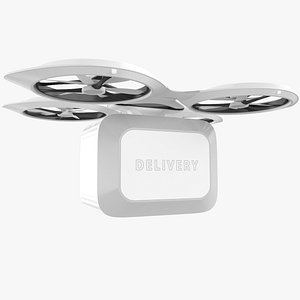 3D Delivery Quadrocopter