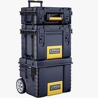 Futuristic Industrial Crates