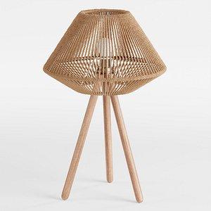 Tori Boho Table Lamp 3D
