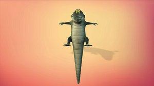 3D cartoon animal