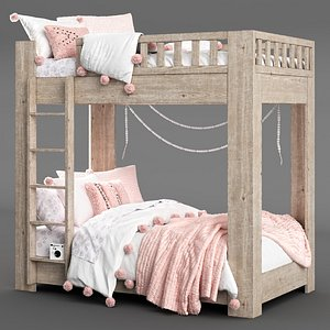 callum bunk bed restoration 3D model