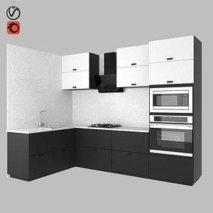 kitchen kungsbacka 3D model