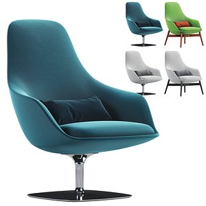 3D bernhardt design armchair