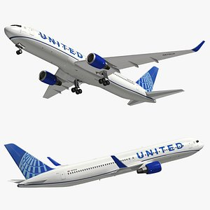 3D boeing united