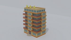 hotel 3star 3D