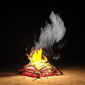 bonfire 3D