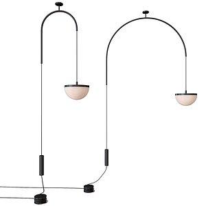 3D ceiling pendant lamp krane