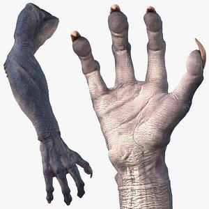 monster creature arm model