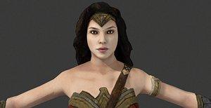 wonder woman bvs - 3D