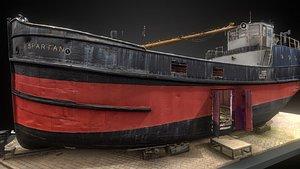 Spartan Ship 3D model