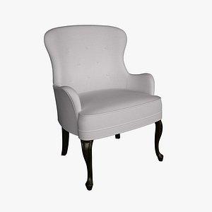 3D model chair style le