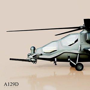 a129 a129d 3D