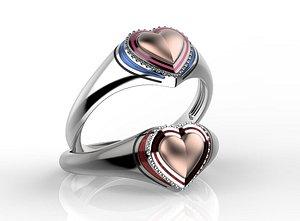 3D model ring jewelry jewellery