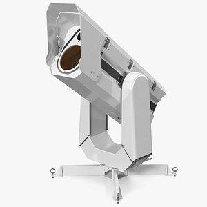 3D LIDAR Scanner Visor