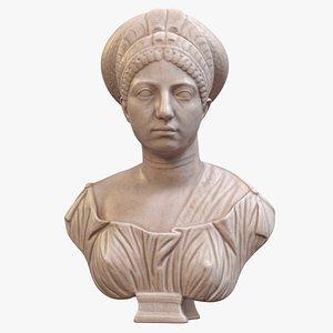 Claudia Olympias Bust 3D model
