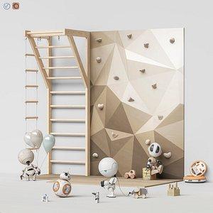 3D set toys