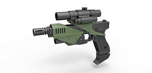 Pistol M70 3D