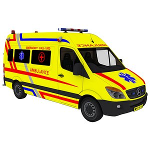 3D vehicle ambulance